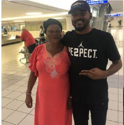 Nigerian Mum Sheds Tears Of Joy After Son Flew Her To US