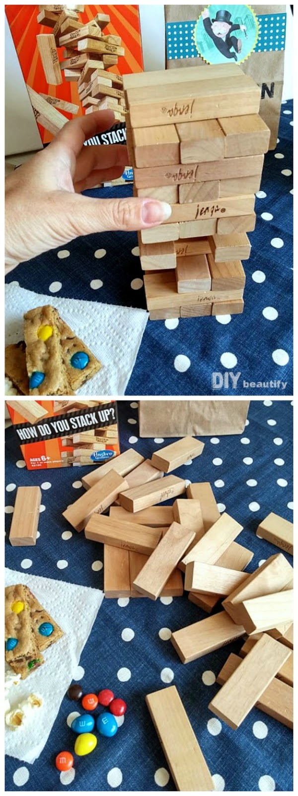 Bake up some easy treats, pull out the board games and spend some quality time with your kids! Find these awesome ideas at DIY beautify