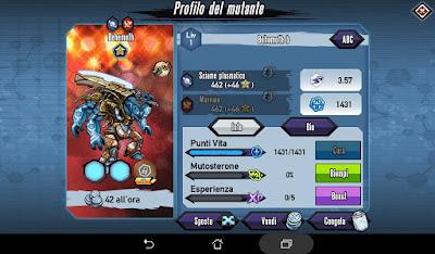 Mutants: Genetic Gladiators Breeding video N°375 (Behemoth - Alien)