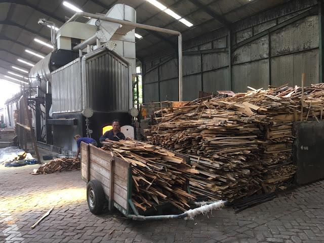 燃料となる木材