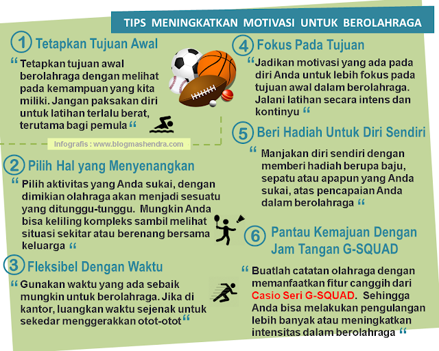 Tips Meningkatkan Motivasi Berolahraga - Blog Mas Hendra