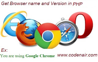 Detect Browser using PHP