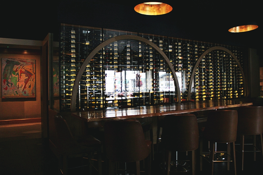 wine selection drink
