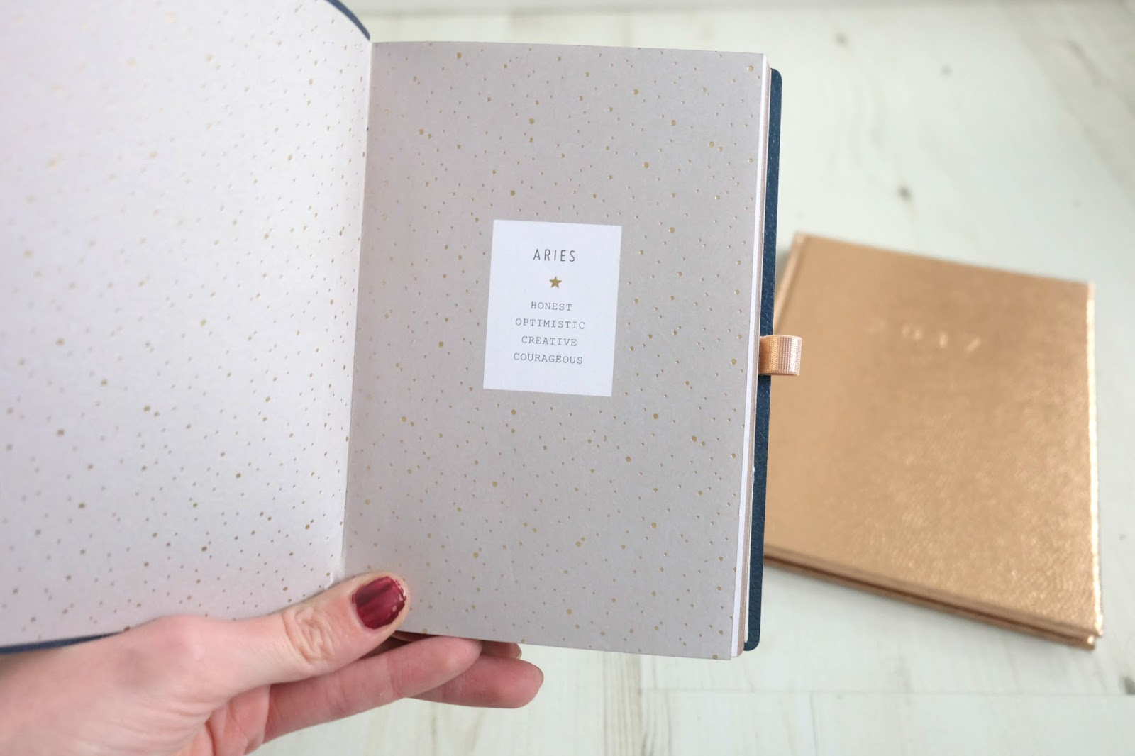 anthropologie aries notebook