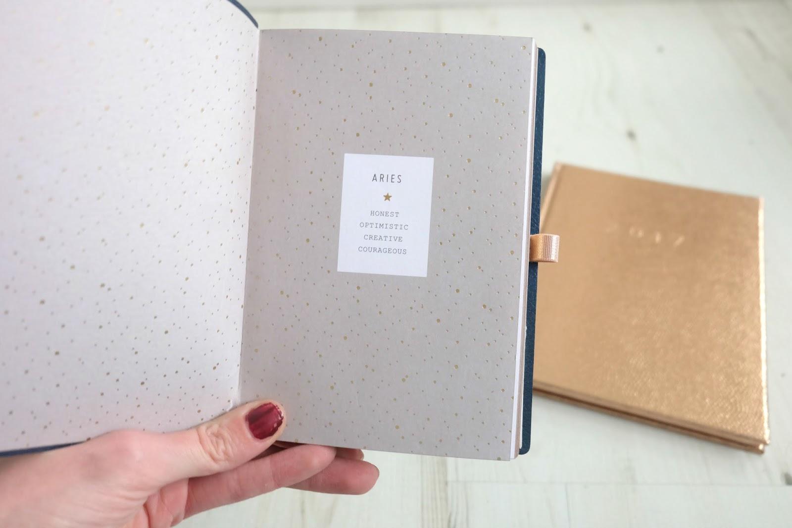 anthropologie aries notebook