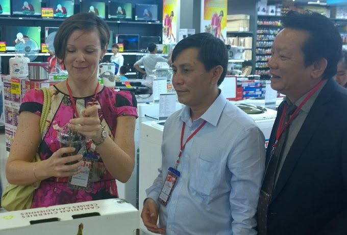 Canada wants to sell more cherries in Vietnam