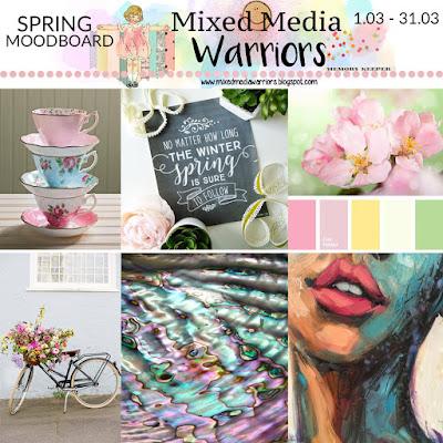Wyzwanie #14 MMW - Wiosenny moodboard | Challenge #14 MMW Spring Moodboard