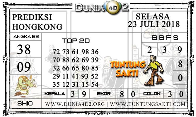 """Prediksi Togel """"HONGKONG"""" DUNIA4D2 23 JULI 2019"""
