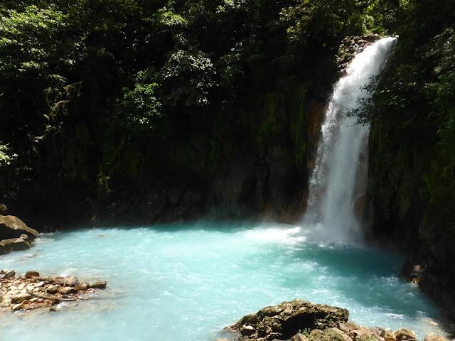 Cascada del Río Celeste, Costa Rica