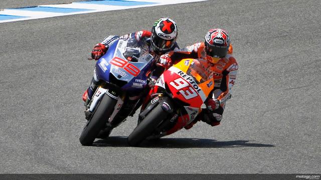 Rossi : Gaya Menyalip Marquez Lebih Parah, Dan Saya Tidak Masalah
