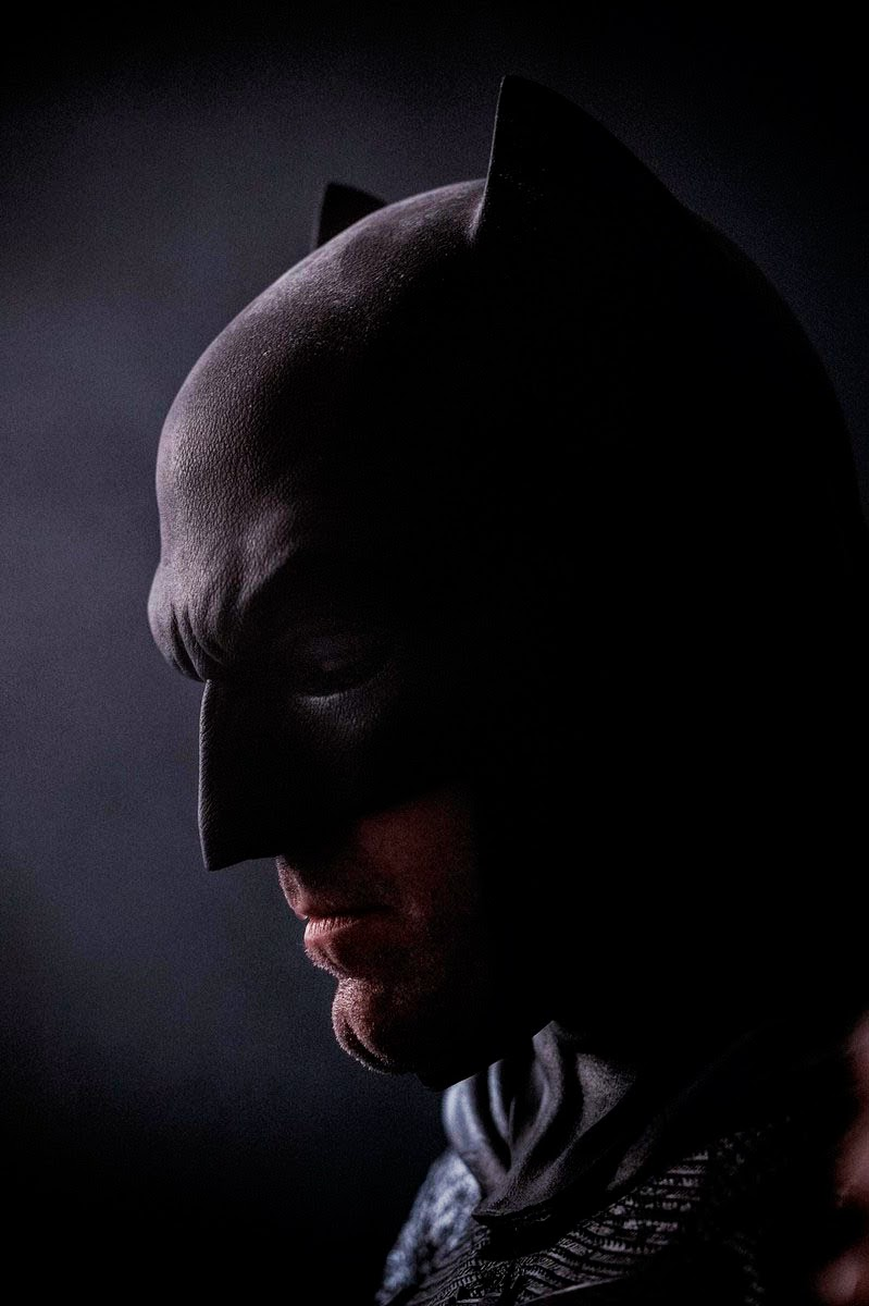 Ben Affleck com Batman en 'Batman V Superman: Dawn of Justice'