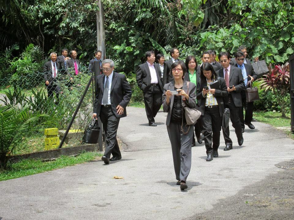 "Lawatan ""Department Of Probation"" Thailand, Ke Rumah Perantaraan WPKL, Jabatan Penjara Malaysia."