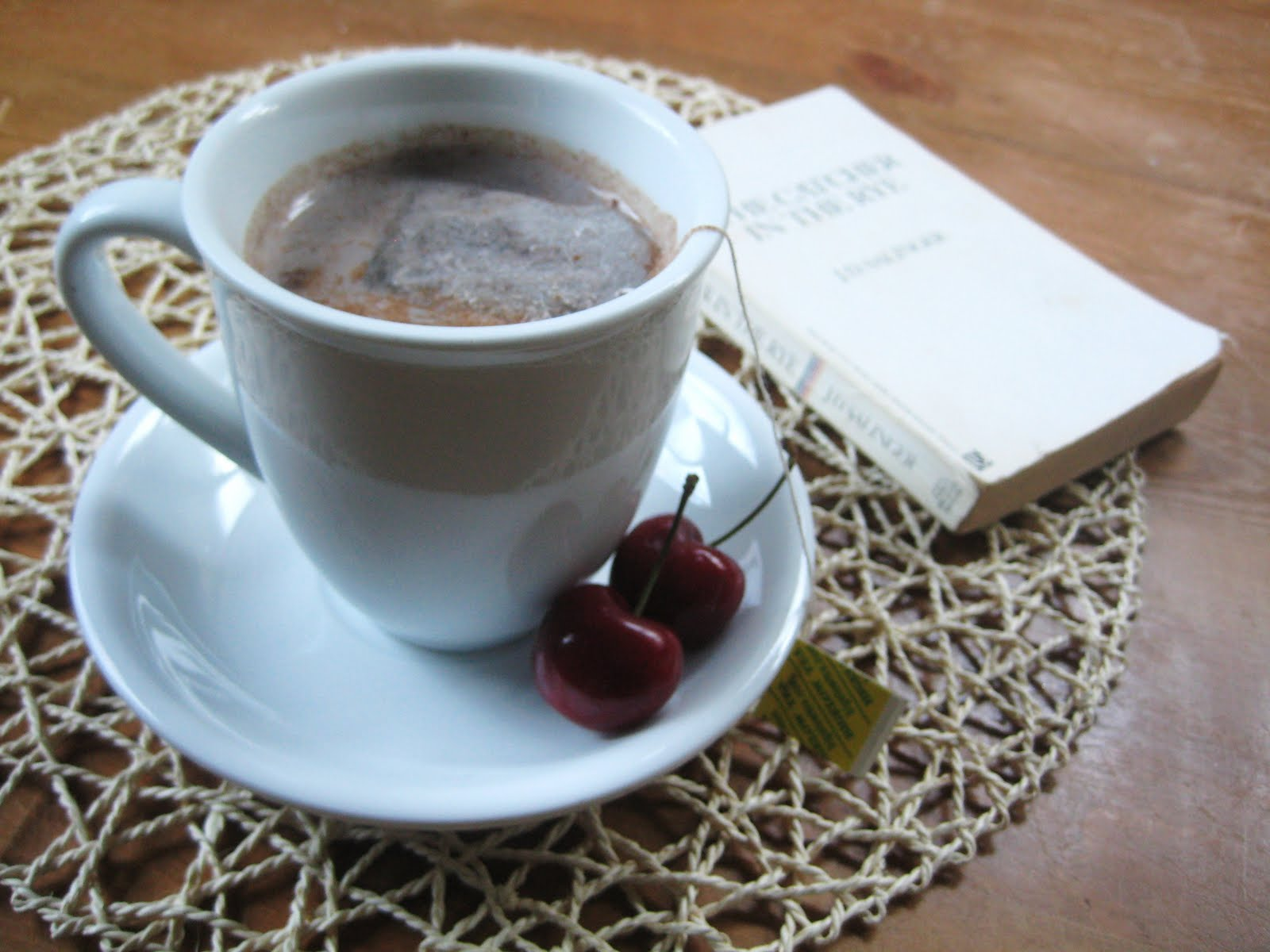 My Fare Foodie : Cherry & Chamomile Nightcap