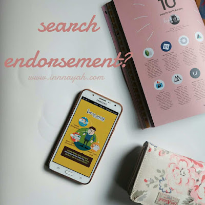 Review aplikasi influlancer, influlancer, endorsement, endorse