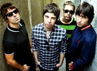 Foto de Oasis con 4 integrantes