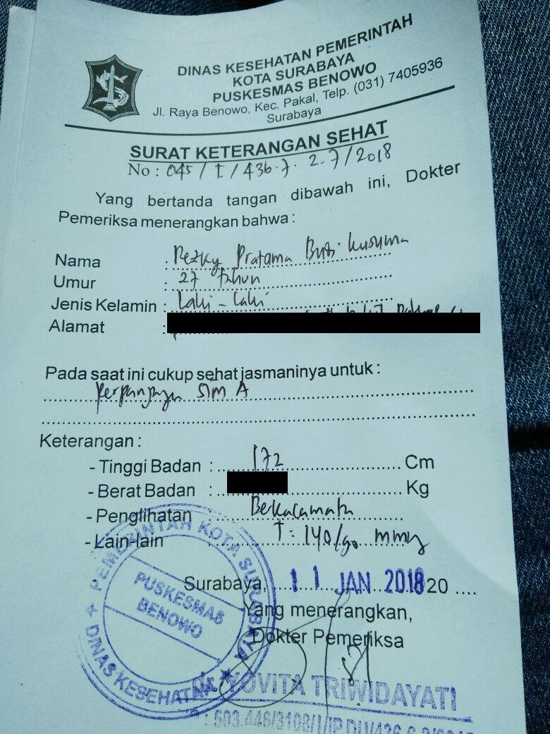 Pengalaman Perpanjangan Sim Di Surabaya Rezky Pratama Blog