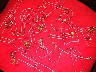 puzzlemaster, metal wire puzzle, solutions, juegos de ingenio de alambre resuelto