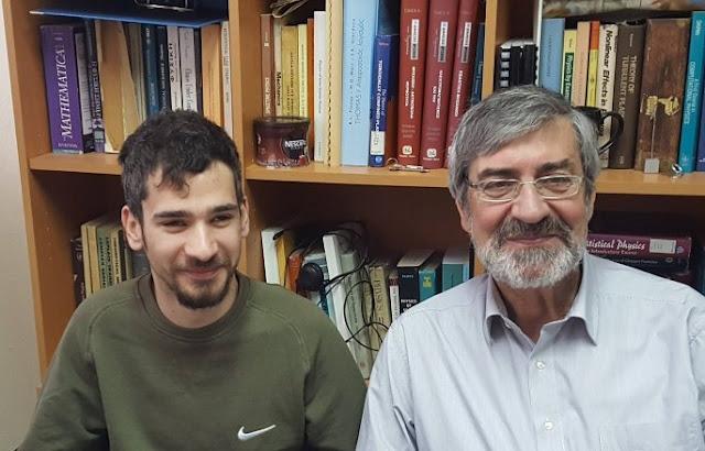 Τυφλός φοιτητής απορρίφθηκε από το Αριστοτέλειο Πανεπιστήμιο αλλά τώρα διαπρέπει στην Αστροφυσική