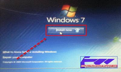 cara menginstal windows di notebook