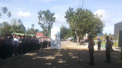 Kapolres Bolmong Ingatkan Personilnya Jaga Citra