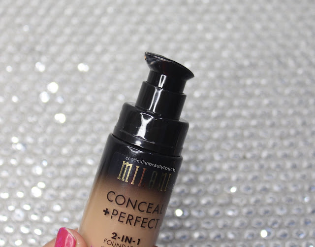 Milani Cosmetics India, Milani Conceal+Perfect 2-in-1 Foundation in 05 Warm Beige Review , best foundation, Face, drugstore Makeup Products, affordable foundation in India, Makeup Products Review,