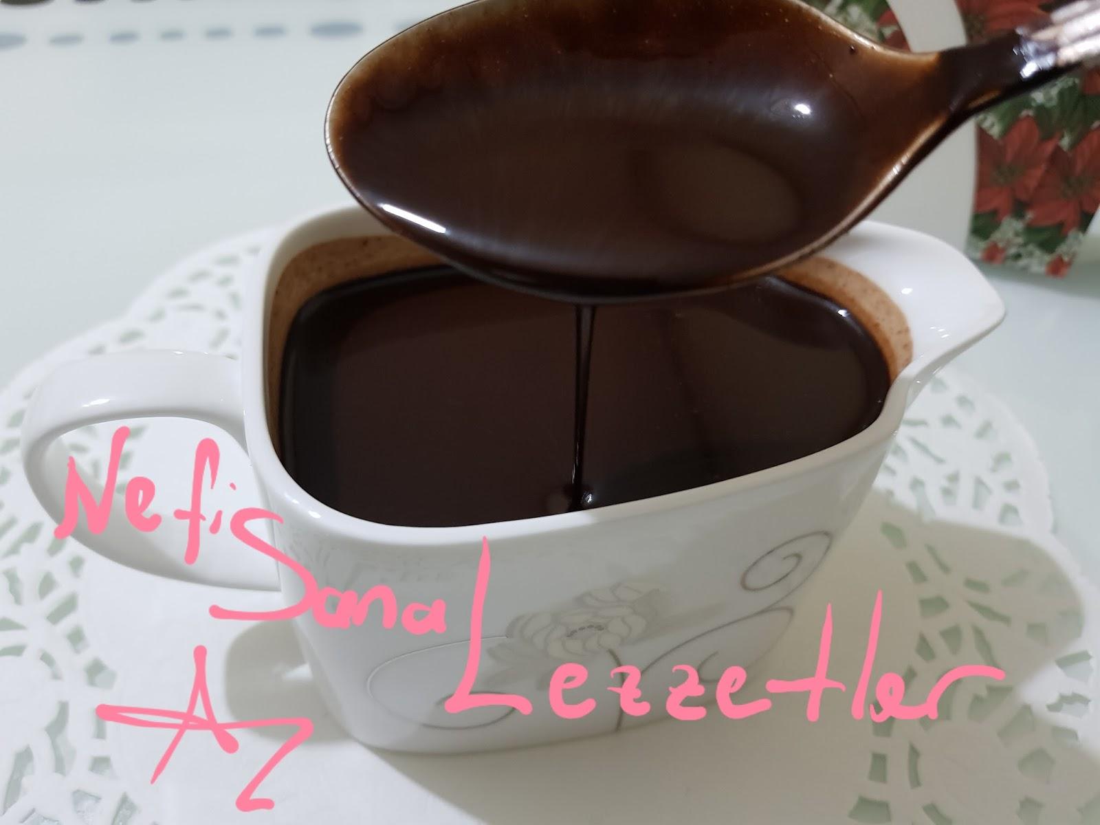 Ev Yapımı Çikolata Sos