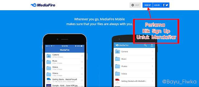 cara daftar mediafire terbaru