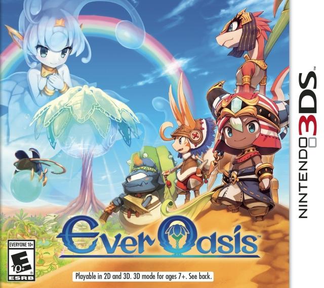 Ever Oasis (EU/US/JP) 3DS ROM
