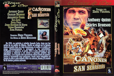 Los cañones de San Sebastián   1968   La bataille de San Sebastian, Cover Dvd Caratula