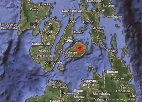 Earthquake strikes Cebu, Bohol October 15, 2013