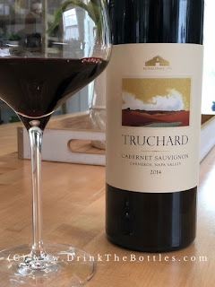 2014 Truchard Vineyards Cabernet Sauvignon Label