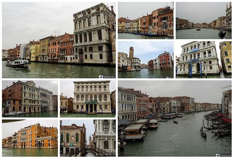 Veneza vista de dentro do vaporetto - Diário de Bordo - 1 dia em Veneza