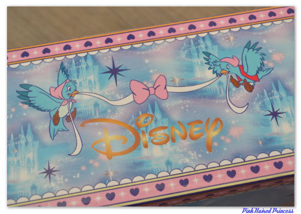 irregular choice disney cinderella box side bird detail