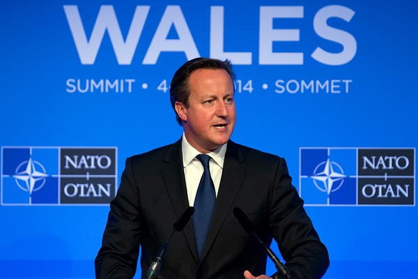 Former British PM David Cameron In Race To Be Next NATO Chief