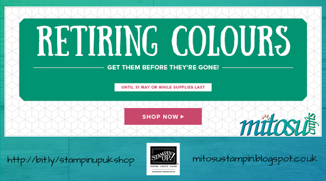 Order Retiring Colours by Stampin' Up! from Mitosu Crafts UK Online Shop