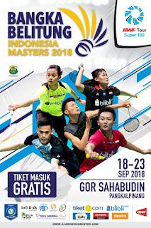 Hasil Lengkap Live Skor Bangka Belitung Indonesia Masters 2018