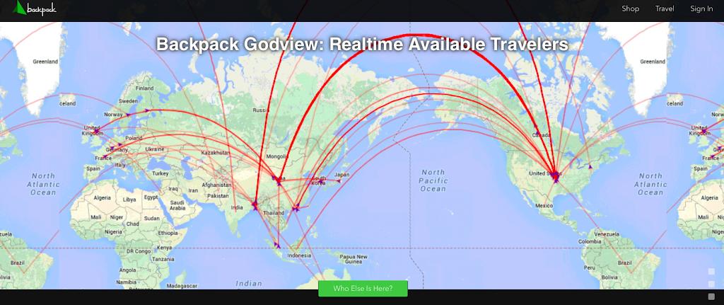 跨國購物O2O,Backpack幫你媒合旅行者代購