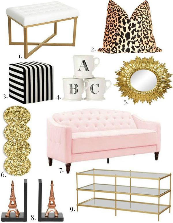 First Home Must-Haves, Bachelorette Pad, Pink Couch, Lawyer Lookbook, Lawyer Fashion Blog