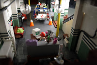 Lego Ghostbusters: Base & Ecto-1. 21108 + 75827