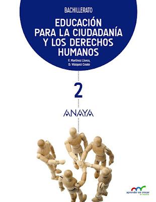 LIBROS DE TEXTO  Educación para la Ciudadanía y los Derechos Humanos 2  BACHILLERATO (Anaya - Curso 2016-2017)   Aprender es crecer en conexión  Comprar en Amazon España
