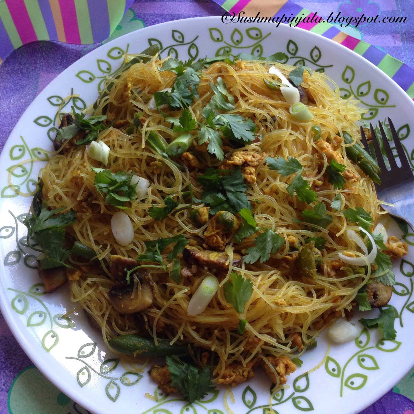 Singapore Noodles- How to make perfect Singapore  Noodles