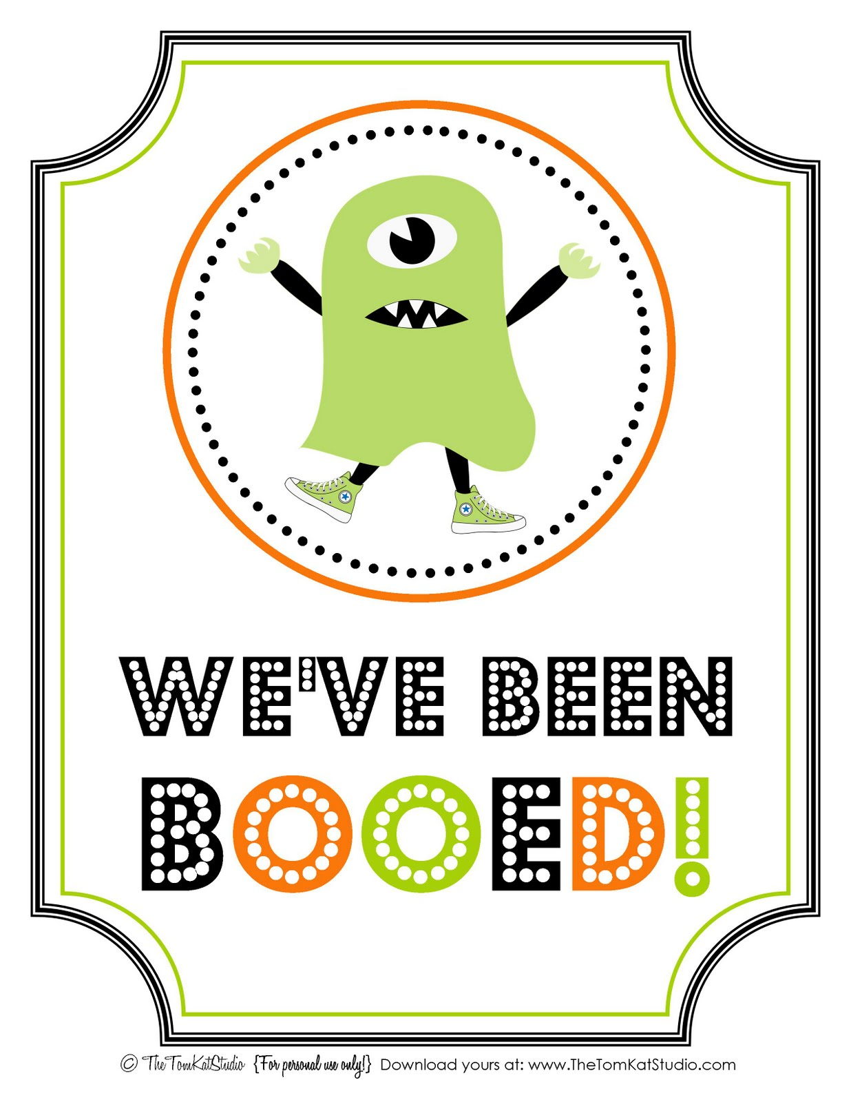 The Tomkat Studio Halloween Free Printable Boo Sign Amp Instructions