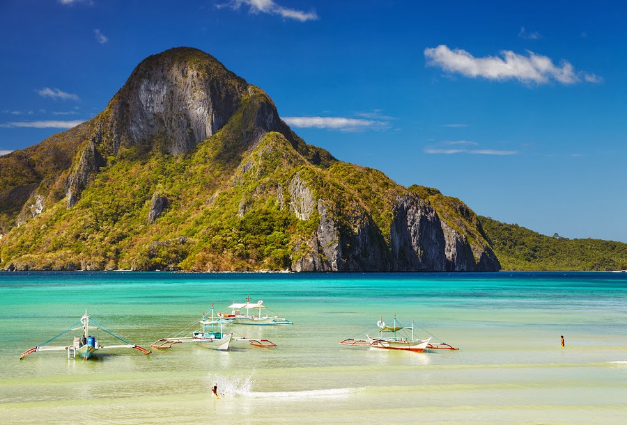 El Nido Bay and Cadlao Island