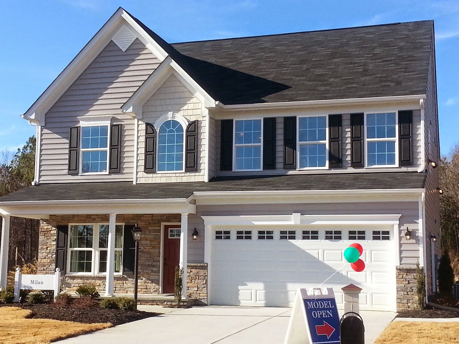 Model homes decorated ideas for Model home ideas