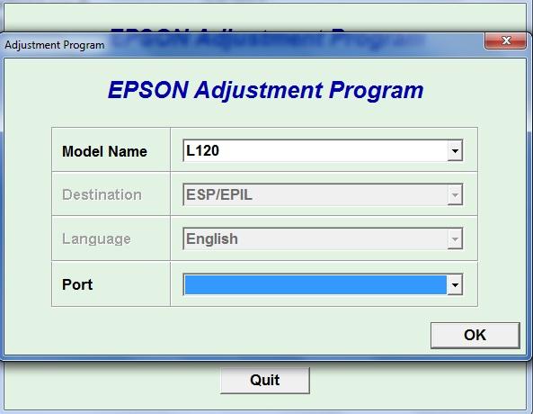 Reset Epson L120 Reset Ilimitados Impresoras Epson