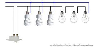 Instalaciones eléctricas residenciales - circuito mixto