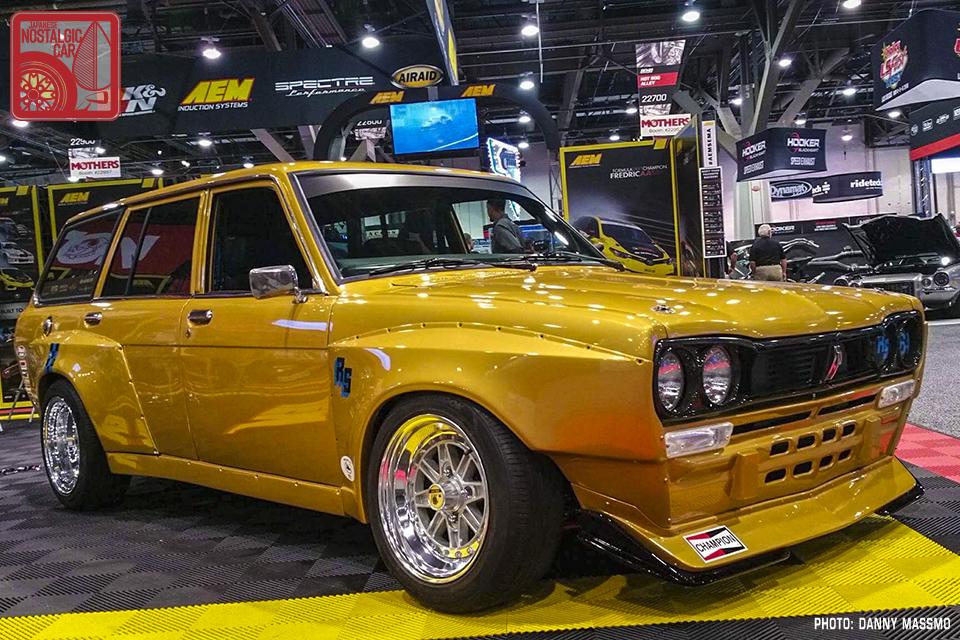 Chris Forsberg's 1972 Sr20det swapped Datsun 510 Wagon