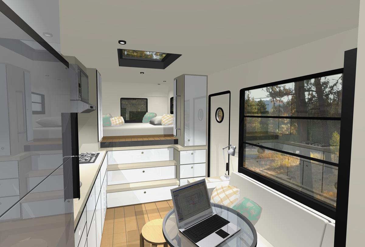 Mcm design custom motorhome design 2 for Custom interior design