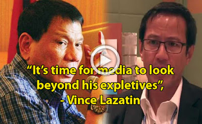 Juan Timely Change! It's Time for Media to Look Beyond Duterte's Expletives Says Lazatin. Must Read!