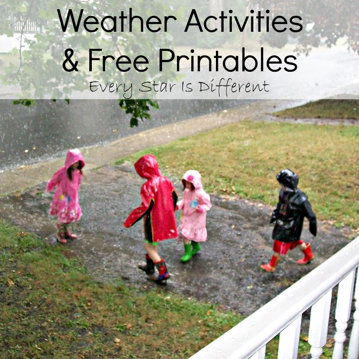 Weather Activities & Free Printables